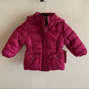 Girls Hooded Winter Jacket